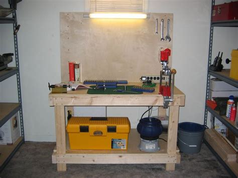 portable shooting table diy ammunition reloading bench