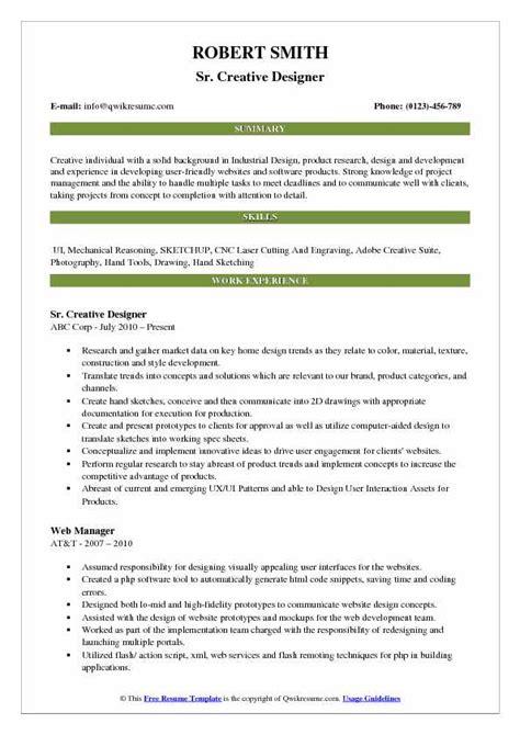 graphic designer cv template word invoice templatez