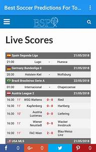 best soccer predictions for today for android apk
