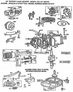 Engine Diagram  U0026 Parts List For Model 917383161 Craftsman