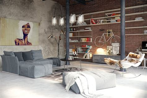 Industrial Style Wohnzimmer by Industrial Style Living Room Design The Essential Guide