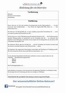 Einverständniserklärung Interview Bachelorarbeit : das darf nicht fehlen bei der einleitung in ein interview ~ Themetempest.com Abrechnung