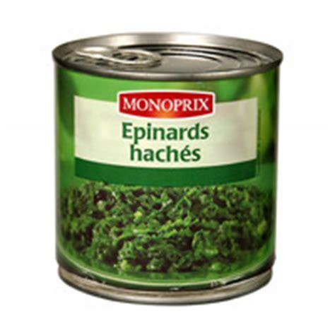 cuisiner epinard en boite epinards en boîte 100g gt calories 35 kcal protides 3 g lipides 0 g glucides 3 g