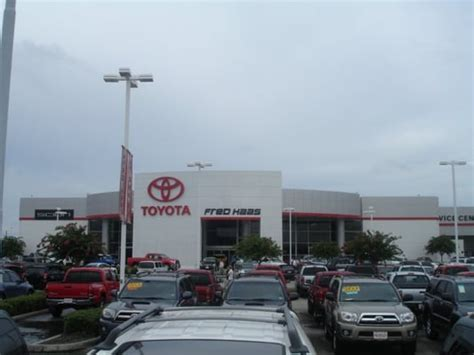 Fred Toyota by Fred Haas Toyota World Car Dealers Tx Yelp