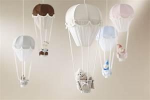 Lustre Montgolfière Bebe : lustre montgolfiere gris perle domiva momentbebe ~ Teatrodelosmanantiales.com Idées de Décoration