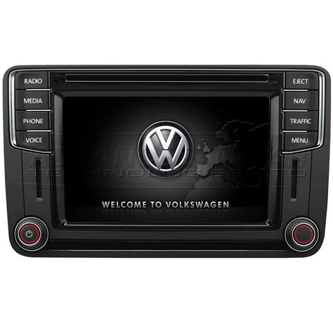 vw navigation discover media volkswagen discover media mib2 nav dab bluetooth app connect