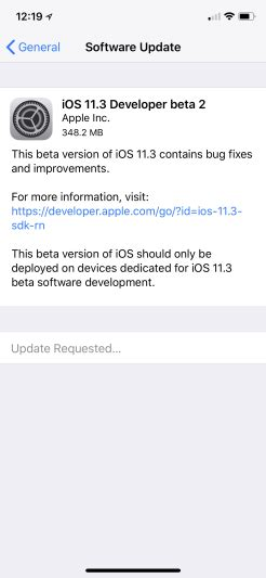 apple releases ios 11 3 beta 2 with battery health data 9to5mac