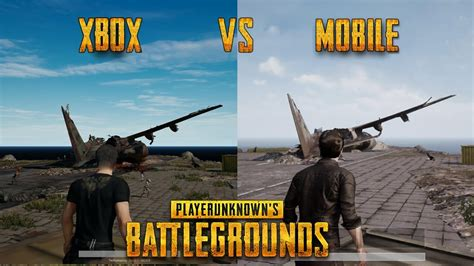 Player Unknown's Battlegrounds Xbox Vs Mobile