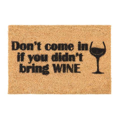 buy doormats buy artsy doormats without wine door mat amara