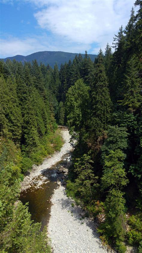 capilano suspension bridge vancouver canada visions  travel