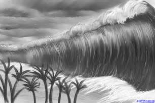 Tsunami Drawing