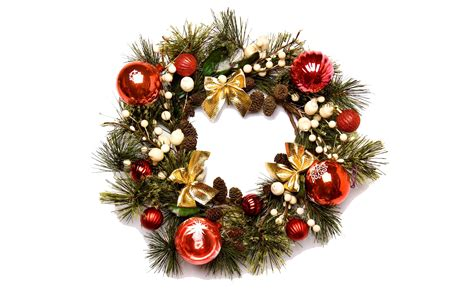 christmas wreath png image png mart