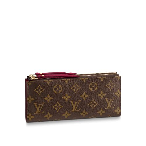 adele wallet monogram canvas small leather goods louis vuitton