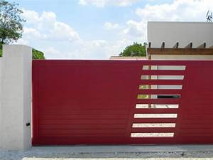 portail en aluminium sur mesure portail exterieur With portail exterieur sur mesure