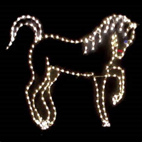 lighted christmas animals