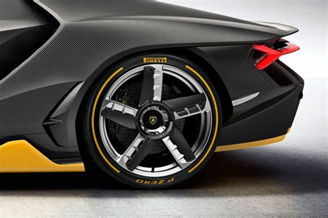lamborghini centenario rear wheel drivers delight