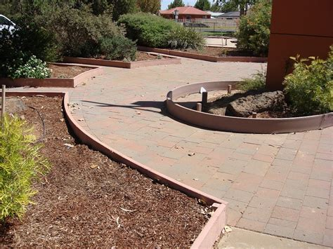 How To Lay Decking On Soil by Integrated Recycling Recycled Plastic For Bollards