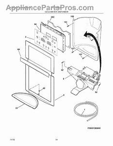 Parts For Frigidaire Fphc2398lf1  Ice  U0026 Water Dispenser