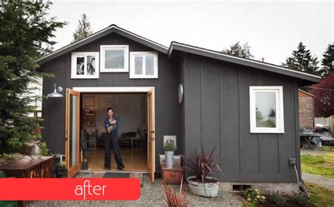 diy small house boring garage turned into fancy small home in seattle