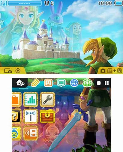 Themes Nintendo 3ds Menu Zelda Legend Link