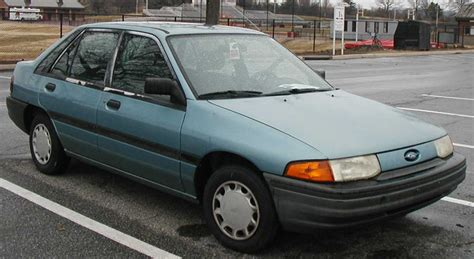 1994 Ford Escort 16 Lx Related Infomation,specifications