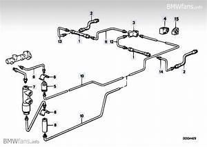Brake Pipe Rear Bmw 3 U0026 39  E30  M3  S14   U2014 Bmw Parts Catalog