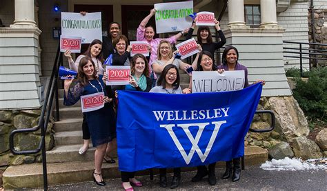 congratulations admitted students daily shot wellesley college