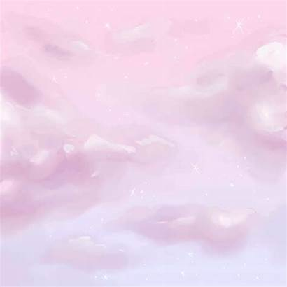 Pastel Aesthetic Background Anime Cloud Gifs Animated