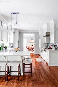 Custom White Shaker Cabinets for a kitchen in Madison, New