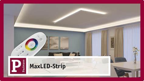 Streifen Als Raumbeleuchtung by Indirekte Blendfreie Led Raumbeleuchtung Mit Maxled Strips
