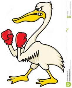 Angry Pelican Cartoon