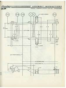 1960-66 Chevy  Gmc Truck Frame Diagram - The 1947
