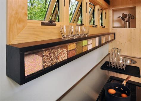 Kitchen Storage : Smart Storage Ideas From Tiny House Dwellers