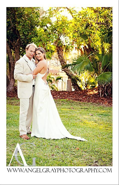 tropical backyard wedding merrit island fl lou  april