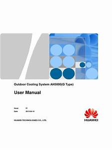 Outdoor Cooling System Ah3000  Q Type  User Manual 01