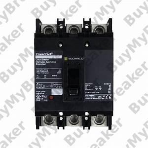 Square D Qdl32225 3 Pole 225 Amp 240v Circuit Breaker