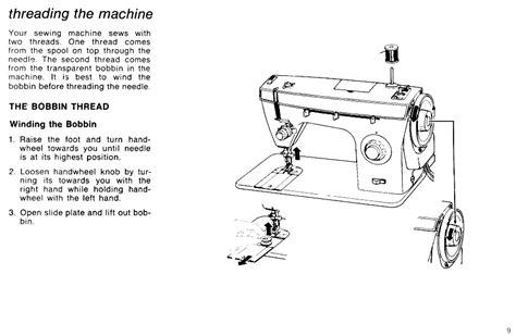 Singer Fashion Mate Sewing Machine Threading Diagram