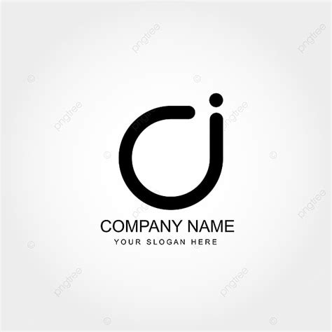 initial letter ci logo template vector design template     pngtree