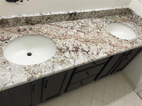 white granite with color deluxe home design