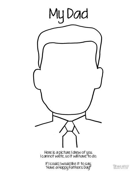 Dad Coloring Pages  Printable Coloring Image
