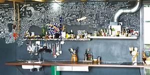 Cuisine Deco Industrielle : quels sont les l ments d co avoir dans une cuisine industrielle marie claire ~ Carolinahurricanesstore.com Idées de Décoration