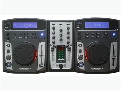Homemix Mdex3 Dj Controller Dual Cd Player Usb Sd Mp3 Dj