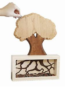 """Money Tree"" Coin Bank Woodworking Plan Who says money"