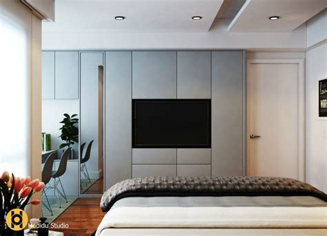 Tv In Small Bedroom Design Ideas by Contemporary And Creative Tv Wall Design Ideas