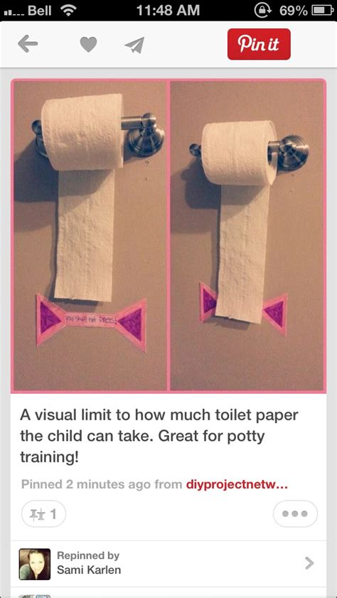 Great Way To Teach Your Child How Much Toilet Paper To Use