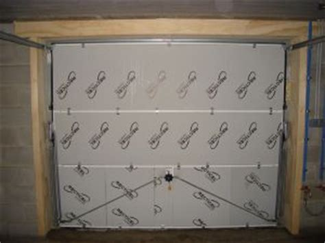 isolation porte de garage basculante isolation et porte de garage basculante