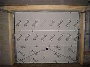 Kit Isolation Porte De Garage : isolation et porte de garage basculante ~ Nature-et-papiers.com Idées de Décoration
