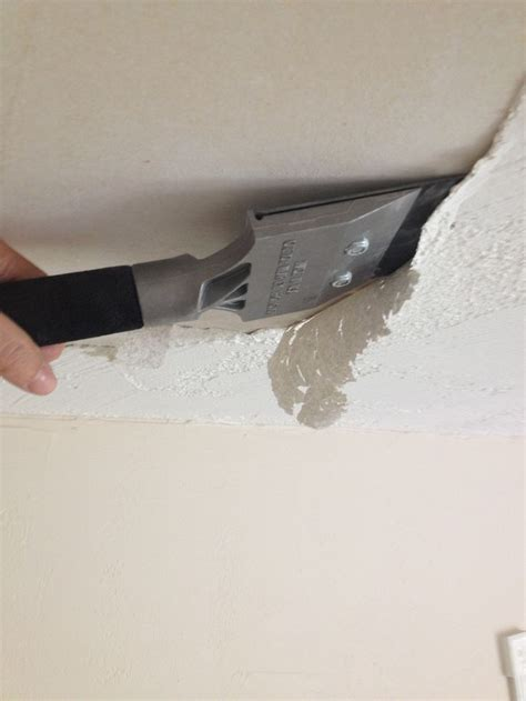 Scraping Popcorn Ceiling Diy by 17 Best Ideas About Cover Popcorn Ceiling On