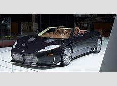 Spyker C8 Preliator Spyder unveiled with new Koenigsegg V8