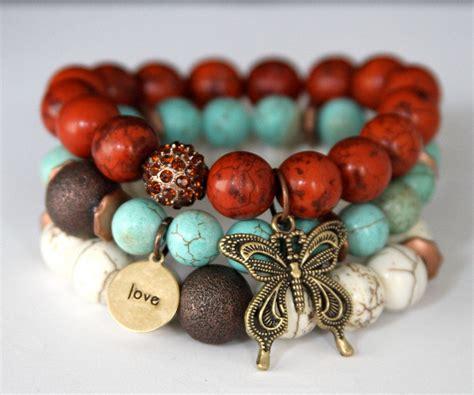 Perfect Boho Stretch Bracelets Boho Stretches And Butterfly